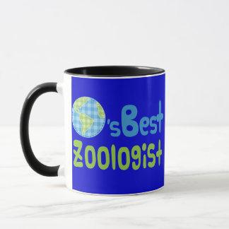 Gift Idea For Zoologist (Worlds Best) Mug