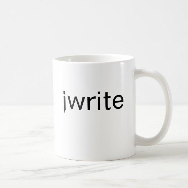 Gift Idea Writer Mug iwrite Funny Pencil Custom