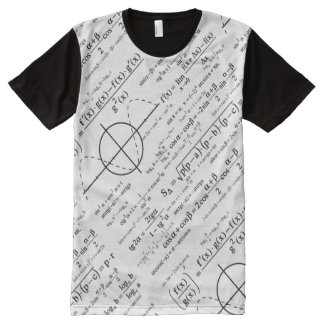 Gift Ideas for Physics Geeks Physicists All-Over Print Shirt