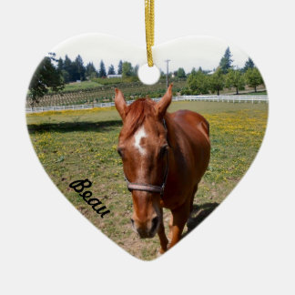 Gift Items from The Horse Sense Riding School Ceramic Ornament