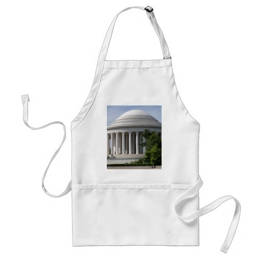 Gift Items Jefferson Monument Adult Apron