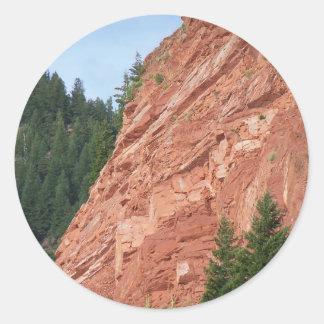 Gift items Ruedi Lake Colorado Classic Round Sticker