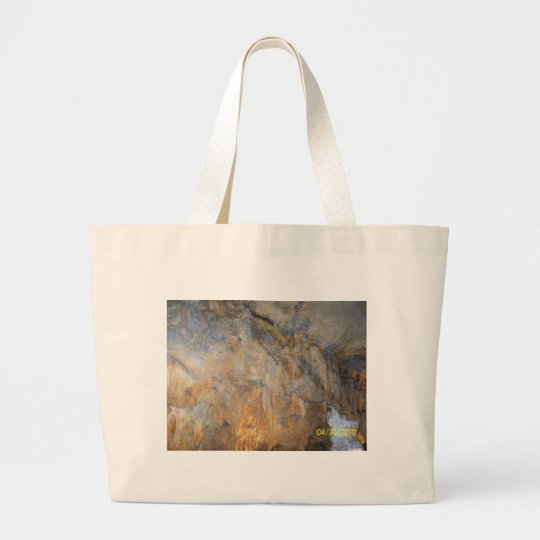 Gift items with Rock Cavern Design Large Tote Bag