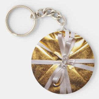 Gift Basic Round Button Keychain