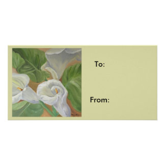 gift label picture card