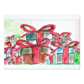 """Gift Note Card 5"""" X 7"""" Invitation Card"""