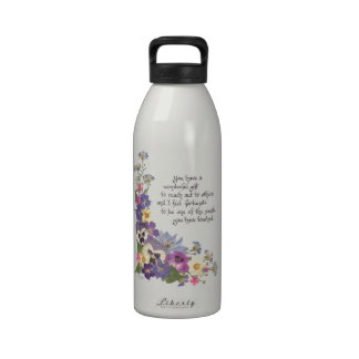 gift of appreciation reusable water bottle