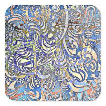Gift of Art thru Autism Square Sticker