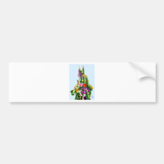 Gift of Flowers-OIL Bumper Sticker