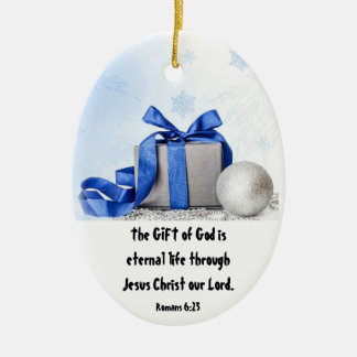 GIFT of God Ceramic Ornament