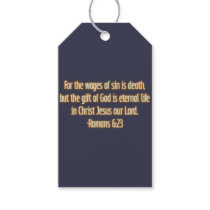 Gift of God Is Eternal Life Gift Tags