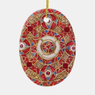 Gift of Gold Ceramic Ornament