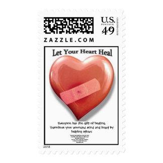 Gift of Healing Postage