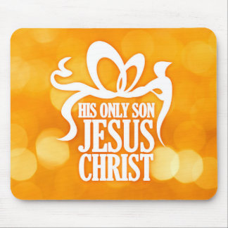 Gift of Jesus Mousemats
