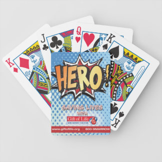Gift of Life HERO playing cards
