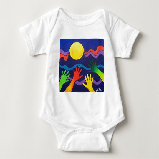 Gift of LIGHT by Piliero Baby Bodysuit