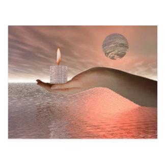 Gift of light postcard