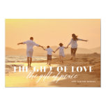 Gift of Peace Religious Christmas Photo Card