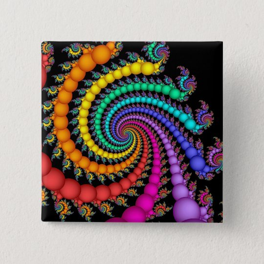 Gift of Pearls Rainbow Gay Pride LGBT Button