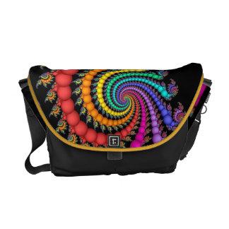 Gift of Pearls Rainbow Gay Pride Messenger Bag