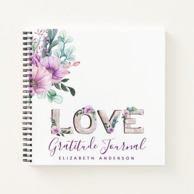 Gift of Thanks Custom GRATITUDE Journal BUDGET