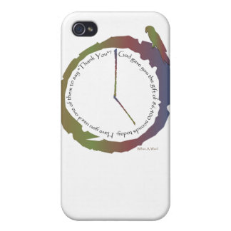 Gift of Time (clock) iPhone 4 Covers