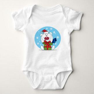 Gift Polar Bear Baby Bodysuit