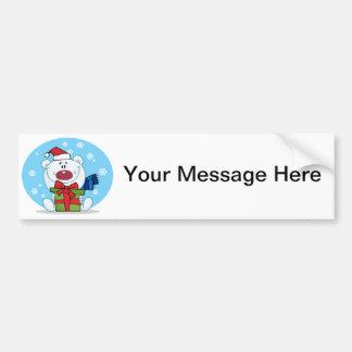 Gift Polar Bear Bumper Sticker