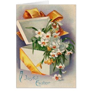 Gift Present Daffodil Jonquil Card