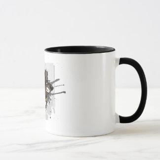 Gift rabid dog mug