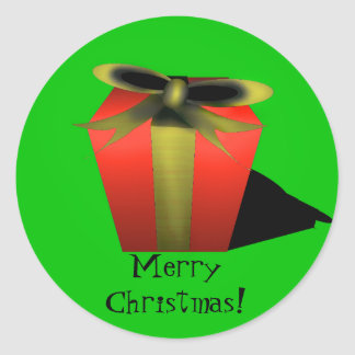 Gift Sticker - Green