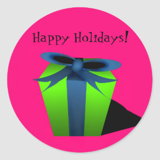 Gift Sticker - Pink