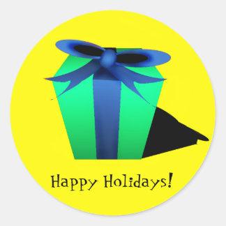 Gift Sticker - Yellow