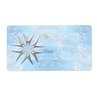 GIFT TAG OPAL STAR by SHARON SHARPE