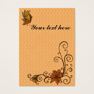 Gift tag/place card-thanksgiving/fall-customizable business card