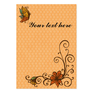 Gift tag/place card-thanksgiving/fall-customizable large business cards (Pack of 100)