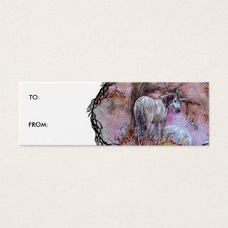Gift Tag - Unicorn Dappled Mare