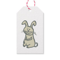 Gift Tag WITH BUNNY