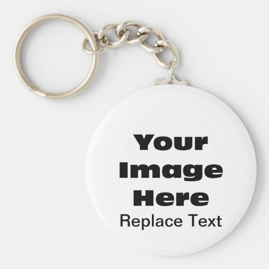 Gift Template: Create Your Own Key Chain