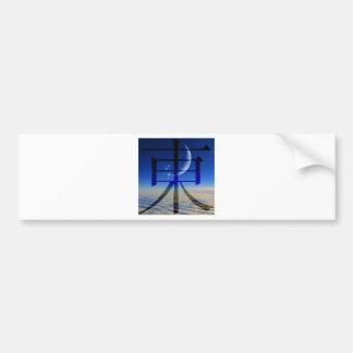GIFT ~ TESSA HOUSEWARMING ~ ELEMENTS EAST (AIR) BUMPER STICKER