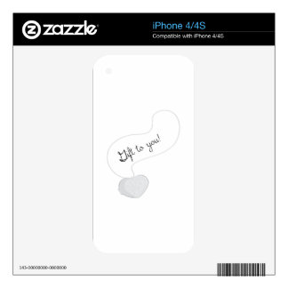 Gift to You iPhone 4 Skin