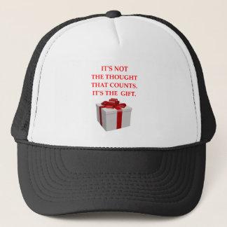 GIFT TRUCKER HAT
