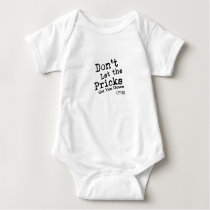 Gift Twins  New Twin Mom Dad Heart Heartbeat Baby Bodysuit