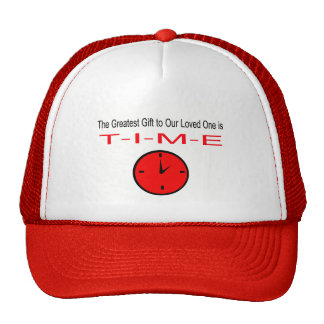 Gift vs time copy trucker hat