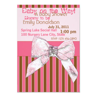 Gift with Bow/ Baby Shower Card