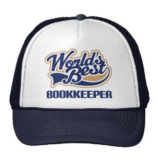 Gift Worlds Best Bookkeeper Trucker Hat
