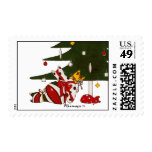 Gift Wrapped Cats Postage
