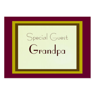 Gift Wrapped Special Guest Card Large Business Cards (Pack Of 100)