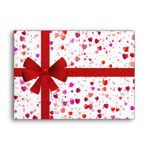 Gift wrapper envelope