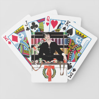 Gift Wrapping Department Bicycle Playing Cards